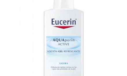Con AQUAporin Active Eucerin, hidratación perfecta para el verano