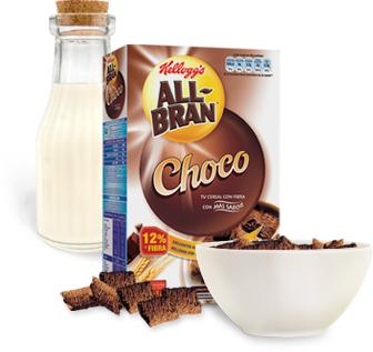 All-Bran de Kellogg's, dieta rica en fibra