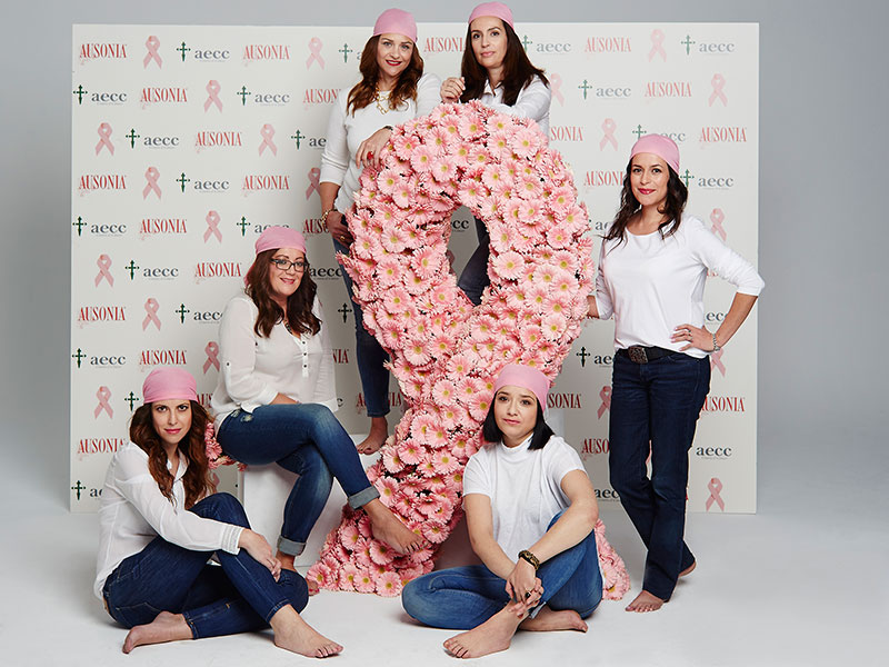 Ausonia y la aecc, en la prevención, el diagnóstico precoz y la investigación del cáncer de mama
