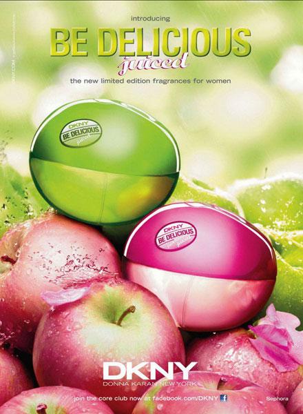 Be Delicious Juiced, y Fresh Blossom Juiced, 2 nuevas fragancias de DKNY