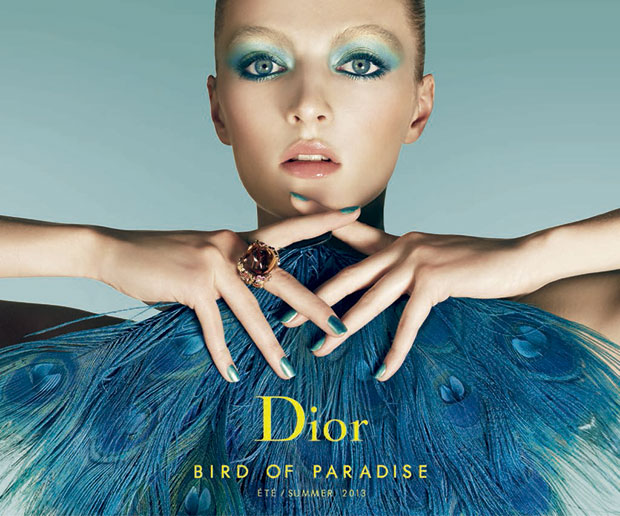 Bird of Paradise de Dior, verdes para este verano