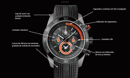 Boss Racing Watch, un reloj de Formula 1