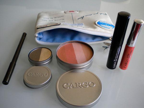 Cargo, colección maquillaje para viaje