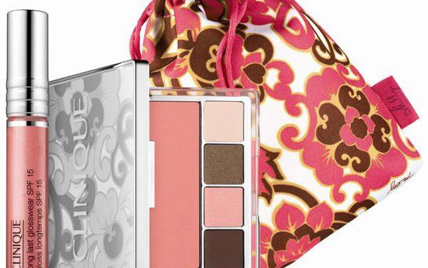 """Clinique, """"PRETTY IN PRINTS"""" colorido primavera 2011"""