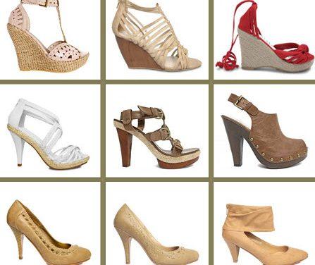 Colección calzado primavera-verano de Blanco