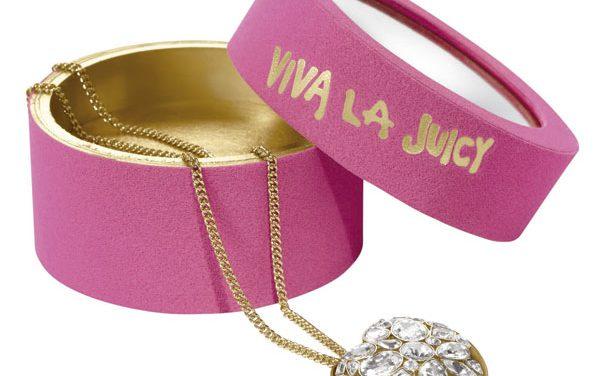 Collar con perfume sólido de Viva la Juicy para San Valentín