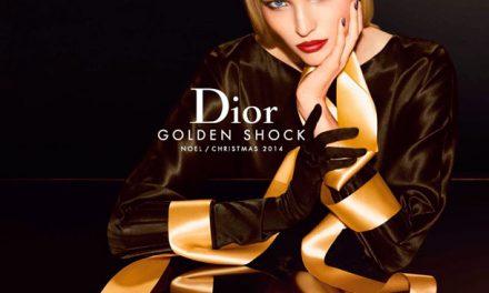 Golden Shock, el maquillaje de lujo para la Navidad creado por Dior