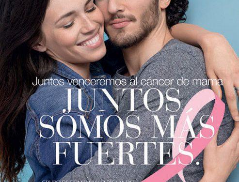 Las marcas de la compañía Estée Lauder se unen para vencer al cáncer de mama