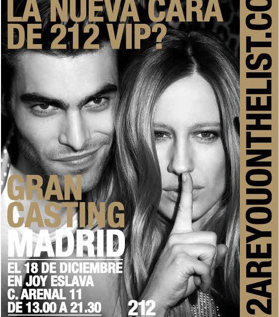 Gran casting 212 VIP Carolina Herrera