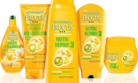 Cabello sano con Garnier Fructis Nutri Repair 3