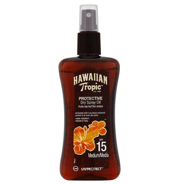 Al sol protegidos con Hawaiian Tropic