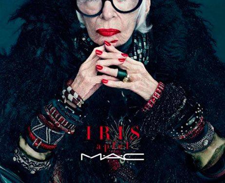 Iris Apfel: la nueva colección de M•A•C
