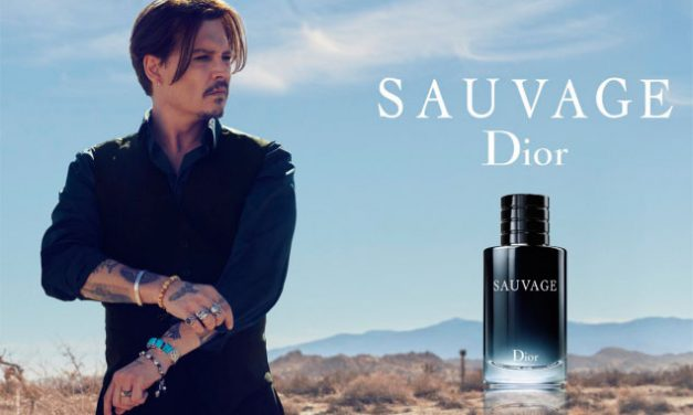 Johnny Depp huele a Dior Sauvage