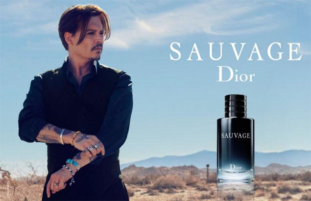 Johnny Depp huele a Dior Sauvage