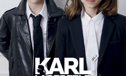 "Karl Lagerfeld Kids presenta para esta PV16 el ready-to-wear más ""rockero"""