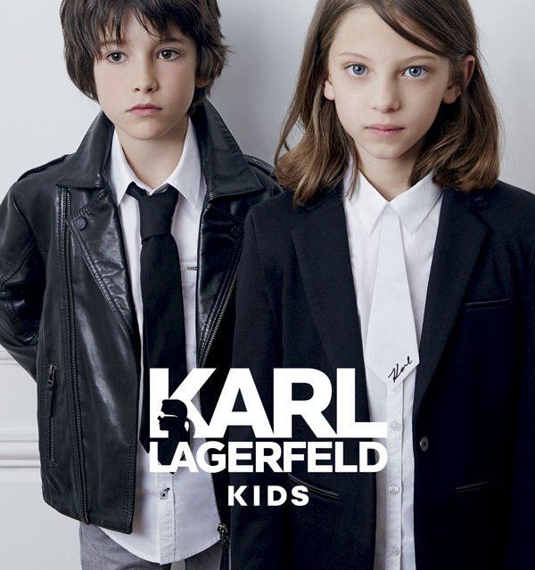 """Karl Lagerfeld Kids presenta para esta PV16 el ready-to-wear más """"rockero"""""""