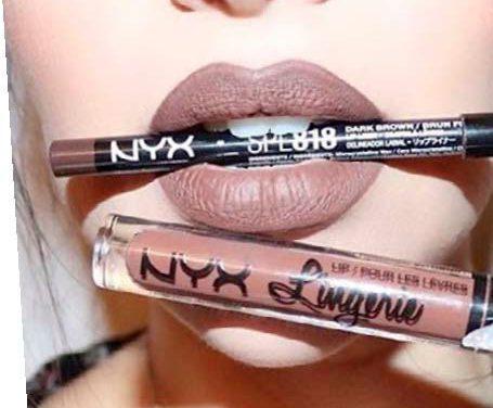 Lip Lingerie de NYX, el labial líquido de acabado aterciopelado mate y de larga duración