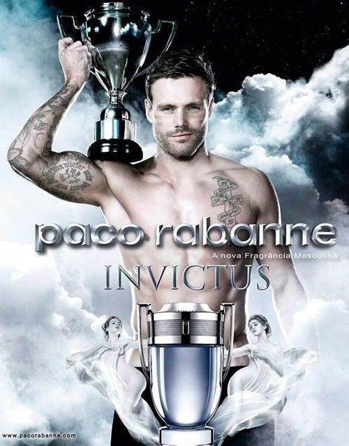 Invictus de Paco Rabanne, un modelo para los hombres y un objeto de deseo para las mujeres