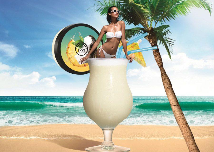 Piñita Colada de The Body Shop, es el mejor cóctel de coco y piña para la piel