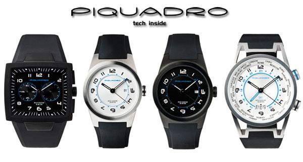 Piquadro desafía el tiempo con su nueva línea de relojes
