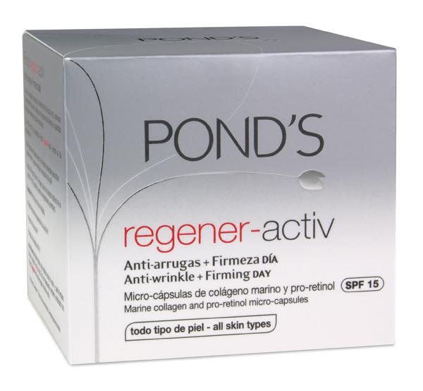 """Pond's relanza su gama """"Regener-Activ"""""""