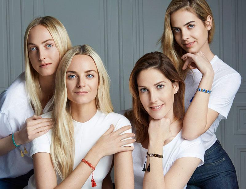 Por la compra de una pulsera en Clarins se donan 7 € a la fundación Arthritis