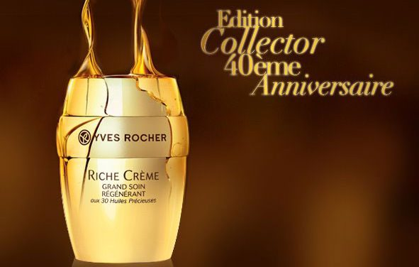 RICHE CRÈME, el oro de Yves Rocher