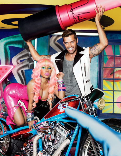 Ricky Martin y Nicki Minaj, nuevos embajadores de Viva Glam