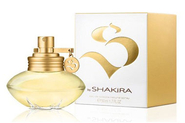 S by Shakira, su nueva fragancia