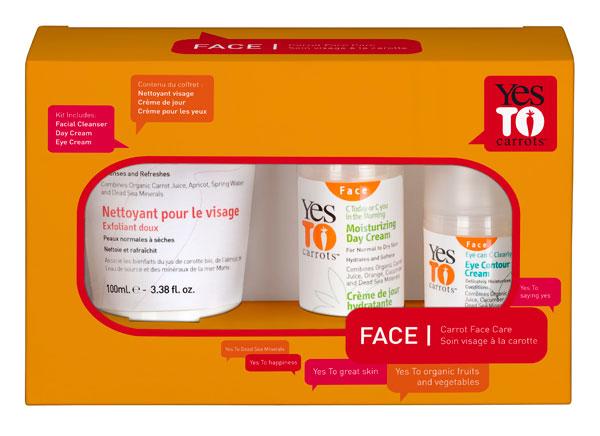 Sephora: Yes to carrots, propone 2 kits para sentirte zanahoria de la cabeza a los pies