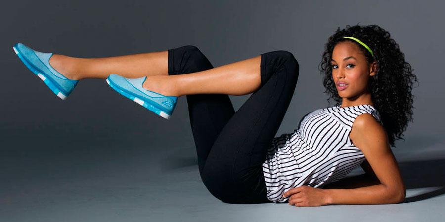 Skechers Goflex, la primera zapatilla que se mueve contigo