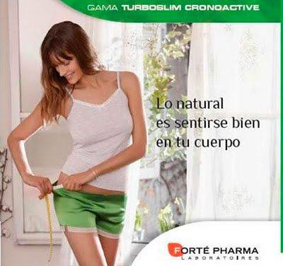 Turboslim Cronoactive, te ayuda a controlar el peso de día y de noche