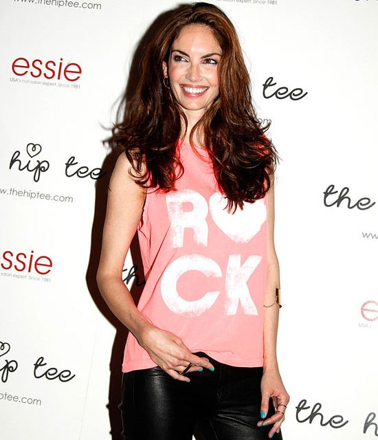 Fiesta con Eugenia Silva, The Hip Tee y Essie