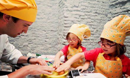 Una tarde perfecta: niños, cocina y Fanta Cooking