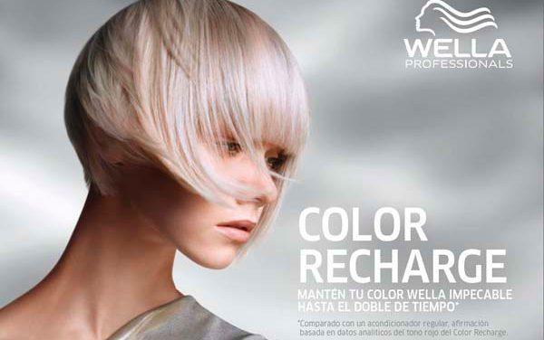 Wella Professionals Color Recharge, como mantener el color del tinte