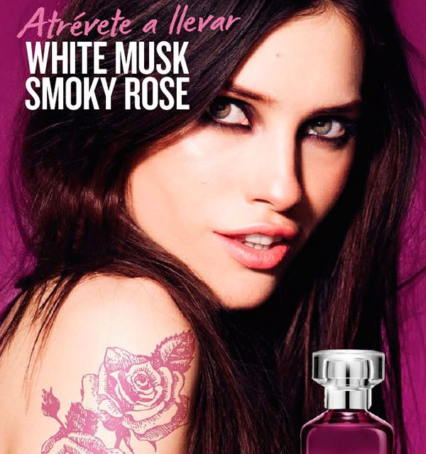 White Musk Smoky Rose de The Body Shop, despierta tu rebeldía