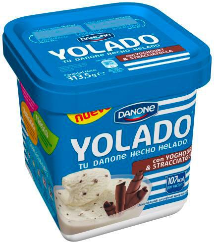 Yolado, el nuevo yoghourt helado de Danone
