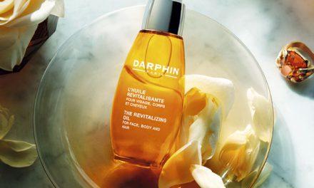 Aceite para rostro cabello y cuerpo, un 3 en 1 de Darphin