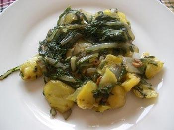 La receta del día: Acelgas con patatas