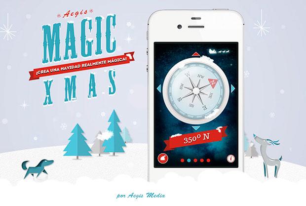 Aegis Magic Xmas, una aplicación mobile para vivir una Navidad mágica