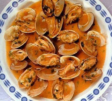 La receta del día: Almejas a la marinera