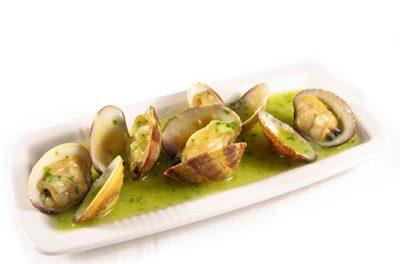 La receta del día: Almejas en salsa verde