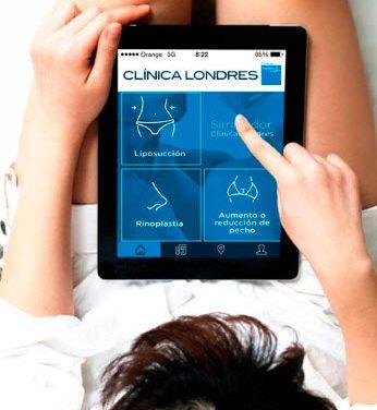 Una aplicación para móviles permite ver al instante los resultados de una liposucción, rinoplastia o aumento/reducción de pecho