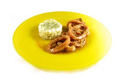 La receta del día: Aros de calamar en su propio jugo