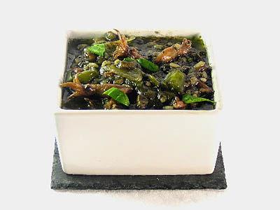 La receta del día: Arroz negro con puntillas de calamar