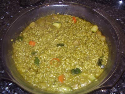 La receta del día: Arroz verde