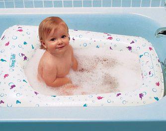 El momento del baño del bebé: Parte II