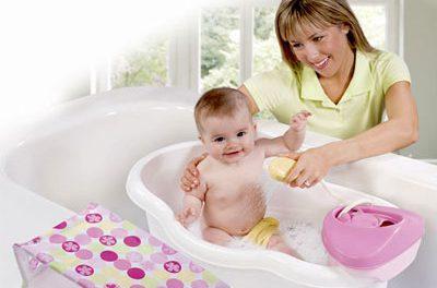 El momento del baño del bebé: Parte IV