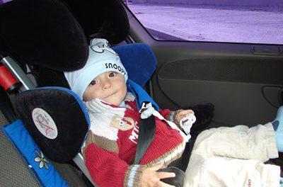 Consejos útiles en el paseo en automóvil con el bebé