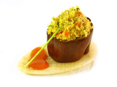 La receta del día: Berenjenas rellenas de cuscús y verduras